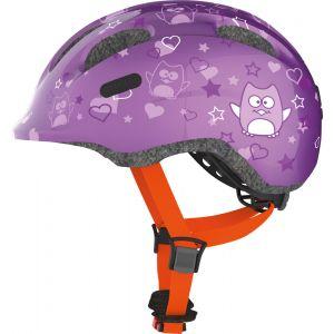 Abus Smiley 2.0 Casque enfant fille - Star Purple taille M 50-55 cm