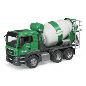 Bruder Toys 3710 - Camion Toupie à Béton Man TGS