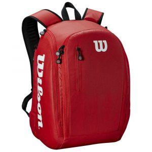 Wilson Sac à dos, Tour Backpack, Rouge, Unisexe, Jusqu'à 2 Raquettes, WRZ847996