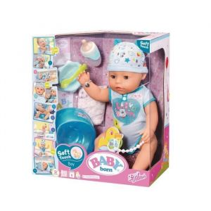 Baby annabell Poupon Baby Born Soft Touch Garçon 43 cm