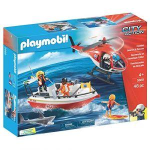 Playmobil 5668 City Action - Recherche et sauvetage côtier