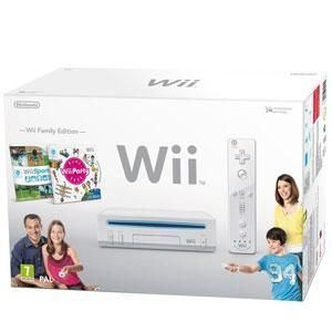 Nintendo Pack Wii Family Edition : Console + Wii Sport + Wii Party