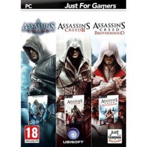 Triple pack : Assassin's Creed i + II + Brotherhood [PC]