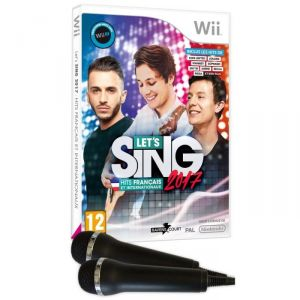 Let'S Sing 2017 : Hits Français et Internationaux + 2 Mic sur Wii