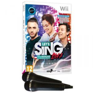 Image de Let'S Sing 2017 : Hits Français et Internationaux + 2 Mic [Wii]