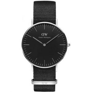 Daniel Wellington DW00100151 - Montre mixte avec bracelet en cuir