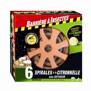 Barrière à Insectes Diffuseur anti-moustique pour spirale citronnelle