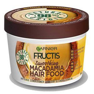 Garnier Fructis Hair Food Macadamia Maschera Capelli Lisciante Disciplinante 3 in 1 - 390 ml