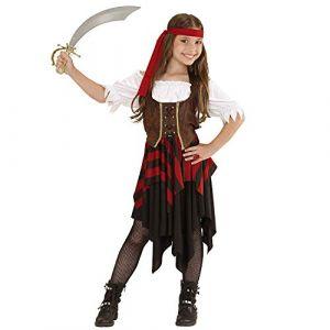 Déguisement pirate corset marron et noir fille Taille: 11 13 ans (158 cm)