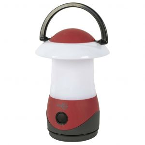 Bo-Camp Lampe de table Cygnus Rouge LED