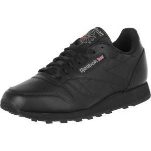 Reebok Classic Leather, Chaussures de Running Mixte adulte, 2267_38.5 EU_Black, 43 EU