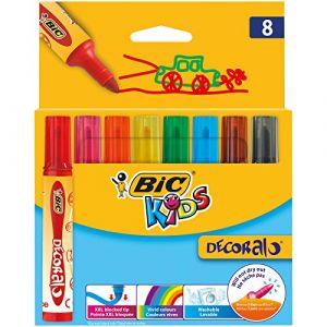 Bic Kids Decoralo 8 feutres de coloriage