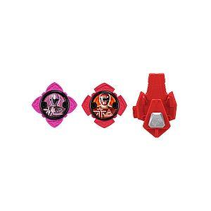 Bandai Power Rangers - Pack 2 étoiles Ninja Steel + 1 lanceur