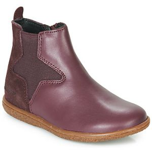Kickers Vermillon - Bottines et boots Enfant, Violet