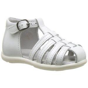 Mod8 Larcade, Chaussures Bébé Marche bébé fille, Blanc, 23 EU