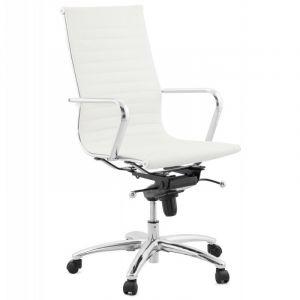 Kokoon Design Fauteuil de bureau RELIK WHITE