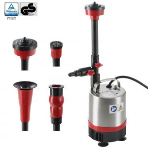 Arebos Pompe de bassin pour fontaine Fonction jet d'eau Fontaine d'eau 50W 1750l/h