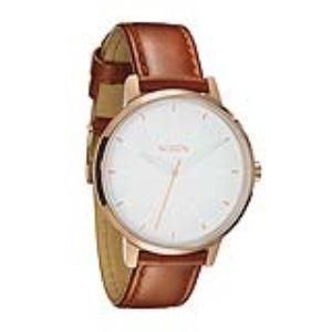 Nixon A1081045-00 - Montre pour femme The Kensington Leather