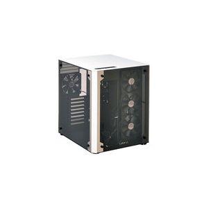 Lian Li PC-O8WBW - Boîtier en aluminium et verre trempé