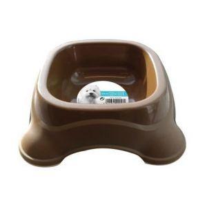 M pets Gamelle en plastique simple PLASTIC BOWL - Pour chien - 475ml - Coloris divers - Moelleux - Ultra confortable - Douillet - Tissu doux - Lavable à la machine à 30°C