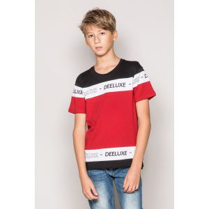 Deeluxe T-shirt enfant Tee Shirt rouge - Taille FR 46,10 ans,12 ans,14 ans