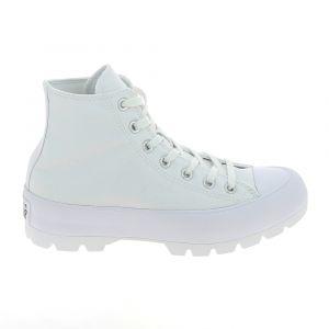 Converse Chuck Taylor All Star Lugged Hi toile Femme-39-Blanc