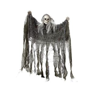 Décoration Halloween : tête de mort