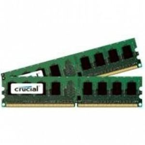 Crucial CT2KIT25664AA800 - Barrettes mémoire 2 x 2 Go DDR2 800MHz 240 broches