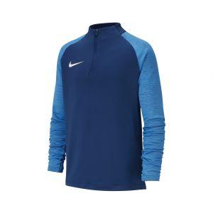 Nike Maillot d'Entraînement Dry Strike Drill - Bleu Marine/Bleu/Blanc Enfant - Bleu - Taille Boys S: 128-137 cm
