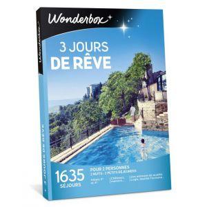Wonderbox 3 jours de rêve - Coffret cadeau 1635 séjours
