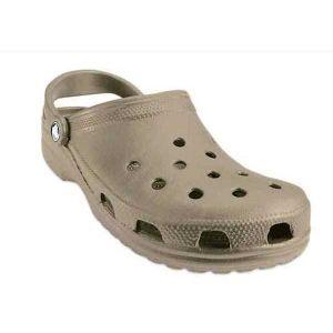 Crocs Classic, Sabots Mixte Adulte, Marron (Khaki) 42/43 EU