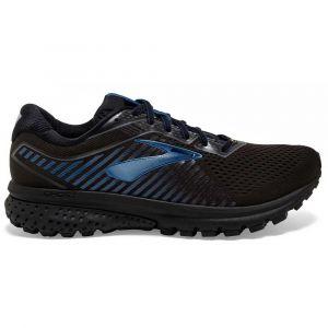 Brooks Ghost 12 GTX, Chaussures de Running Homme, Noir (Black/Ebony/Blue 064), 45 EU