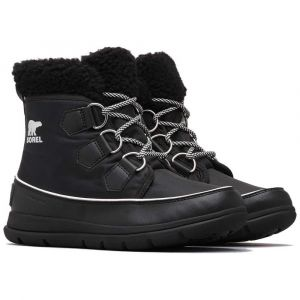 Sorel Chaussures après-ski Explorer Carnival - Black / Sea Salt - Taille EU 40