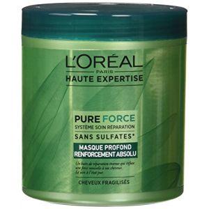 L'Oréal Haute Expertise Pure Force Masque Profond Réparation Ultime Sans sulfates*