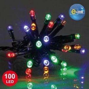 Codico Guirlande lumineuse 100 LED fil vert (4m)