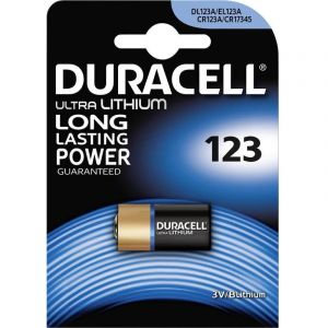 Duracell Ultra Photo DL123 - Pile au lithium