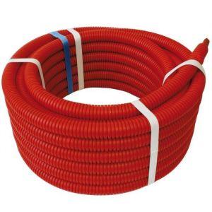 Somatherm Tube PER BAO Gainé pour chauffage et climatisation - Rouge - 20 x 25 - 50 m