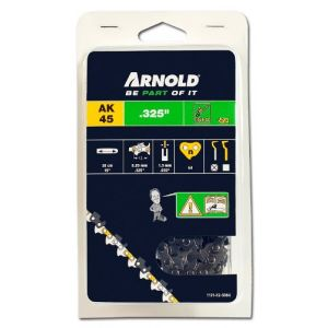 """Arnold Chaîne.325"""", 1,3mm, 64 Entr., avec element de securité, demi rond - 1191-X2-5064"""