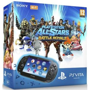 Sony PS Vita Wi-Fi + Playstation All-Stars Battle Royale + Carte mémoire 4 Go
