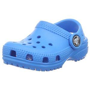 Image de Crocs Classic Clog Kids, Sabots Mixte Enfant, Bleu (Ocean), 23-24 EU