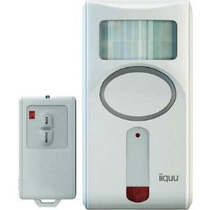 iiquu Sensor Alarm Remote - Détecteur de mouvement sans fil avec télécommande (912590-HSIQME1)