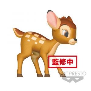 Banpresto Disney figurine Fluffy Puffy Bambi 8 cm- Mini-figurines