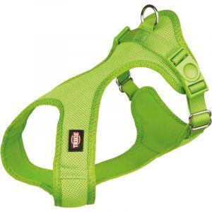Trixie Comfort soft harnais - XS-S: 30-45 cm/15 mm, pomme