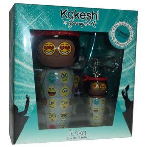 Kokeshi Parfums Tonka by Jeremy Scott - Coffret eau de toilette et porte-clé