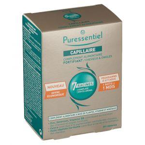 Puressentiel Capillaire fortifiant cheveux & ongles - 60 comprimés
