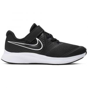 Nike Chaussures de sport Star Runner 2 GS à lacets et scratch Noir - Taille 32