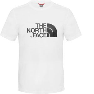 The North Face S/S Easy Tee - T-shirt taille XL, blanc