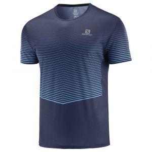 Salomon Sense T-shirt Homme, night sky L T-shirts course à pied