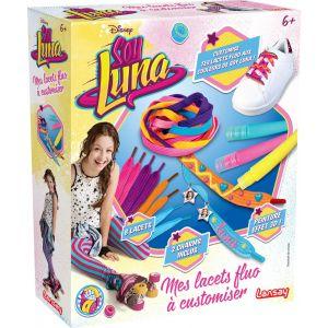Lansay Mes lacets fluo à customiser Soy Luna