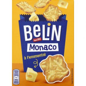 Belin Crackers monaco emmental - Le paquet de 100g